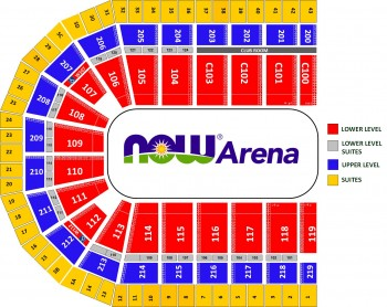 Suite map. Contact Mike Czopek at Michael.Czopek@NOWArena.com or 847-649-2227 for more information.